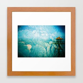 Alcatraz Watchtower Framed Art Print