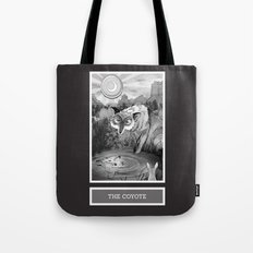 Shadow Season: The Coyote Tote Bag