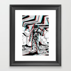 Fear What is Unknown Framed Art Print