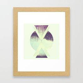 branches. Framed Art Print