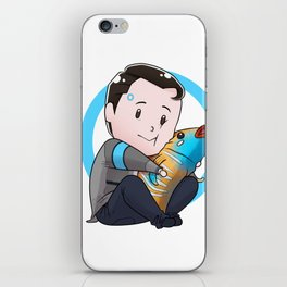 Tiny Connor iPhone Skin