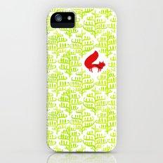 Damask forest pattern iPhone SE Slim Case