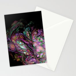 Muddled Abstract Stationery Cards