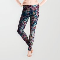 surreal Leggings featuring Surreal Garden by RIZA PEKER