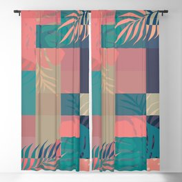 Tropical Mess #society6 #decor #buyart Blackout Curtain