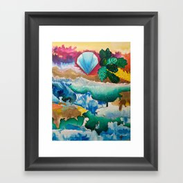 Creations of Light Reflections Framed Art Print