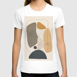 Abstract Minimal Shapes 26 T-shirt