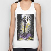 maleficent Tank Tops featuring Maleficent  by Jena Sinclair