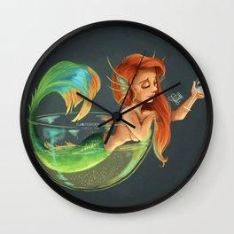 Mermaid Bubble Wall Clock