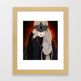 The Firekeeper Framed Art Print