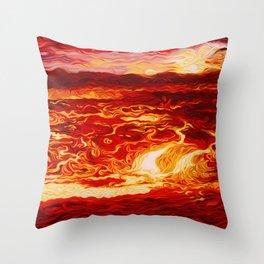 Beautiful Demons Throw Pillow