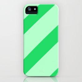 Leaf Stripes iPhone Case