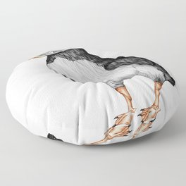 Little Puffin Floor Pillow