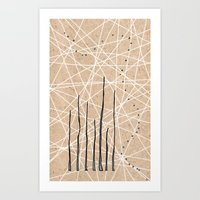 celestial Art Prints featuring Celestial by Finn Wild