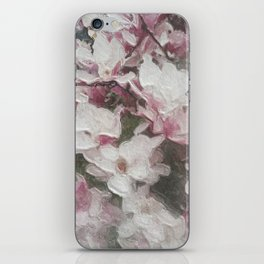 Magnolia Blooms in the Rain iPhone Skin