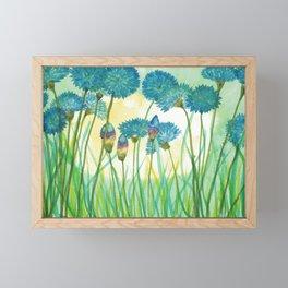 May your cornflowers never fade Framed Mini Art Print