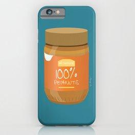 Peanut Butter Love iPhone Case