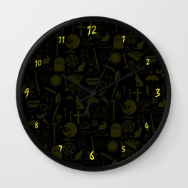 Buffy Symbology, Yellow Wall Clock
