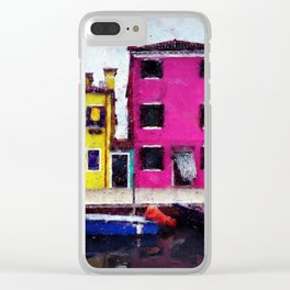 Burano, Italy Clear iPhone Case