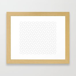 Fracture (from Subtraction Records archives) Framed Art Print