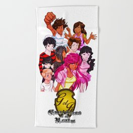 Guardians Group Beach Towel