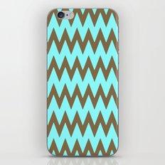 Mocha Mint Frappuccino Chevron iPhone & iPod Skin
