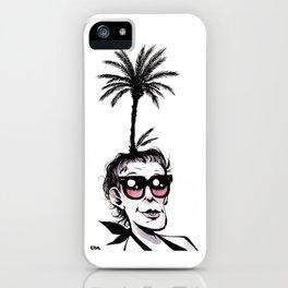 Palmera iPhone Case