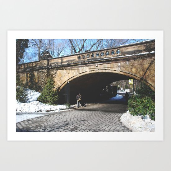 Central Park, New York Art Print
