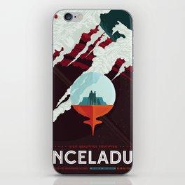 Enceladus iPhone Skin