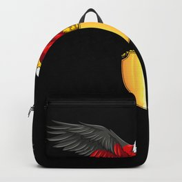 German Eagle - Germany Coat Of Arms Backpack