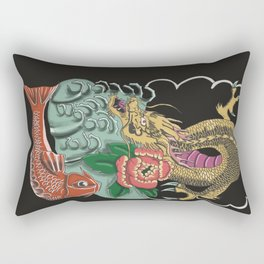 Yakuza Tattoo Rectangular Pillow