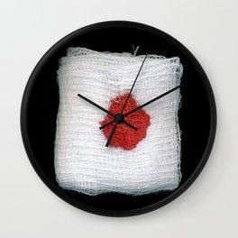 Bloodstained Gauze Wall Clock