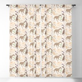 Whippet Real Good! Blackout Curtain