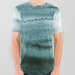 WITHIN THE TIDES - OCEAN TEAL All Over Graphic Tee