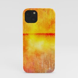 Heatmap Abstract iPhone Case