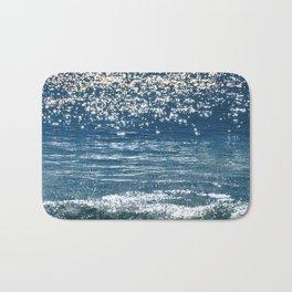 Blue Sea Sparkle Bath Mat