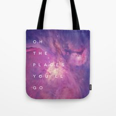 The Places You'll Go II Tote Bag
