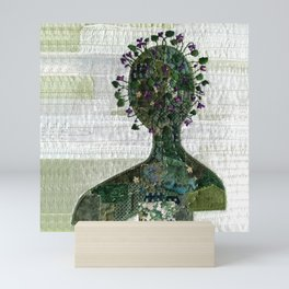 Violets in my head Mini Art Print