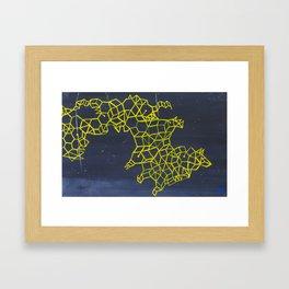 Where Stars Collide Framed Art Print