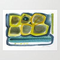 Aquarel Art Print