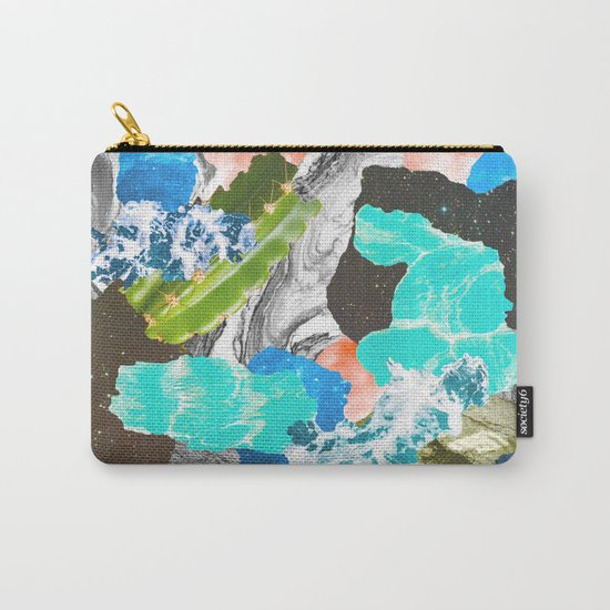 Layers of the Earth Carry-All Pouch