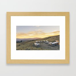 Airstream Rally Framed Art Print