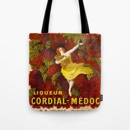 Vintage poster - Liqueur Cordial-Medoc Tote Bag