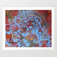 bali Art Prints featuring bali  by missy pierce