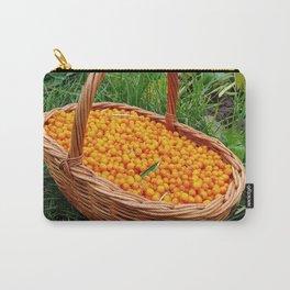 Sea buckthorn basket Carry-All Pouch