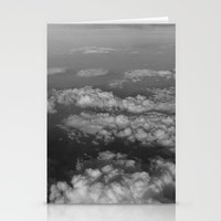 cloud Stationery Cards featuring cloud by habish