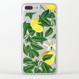 Lemonade || #society6 #decor #pattern Clear iPhone Case