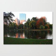 Boston Gardens Canvas Print