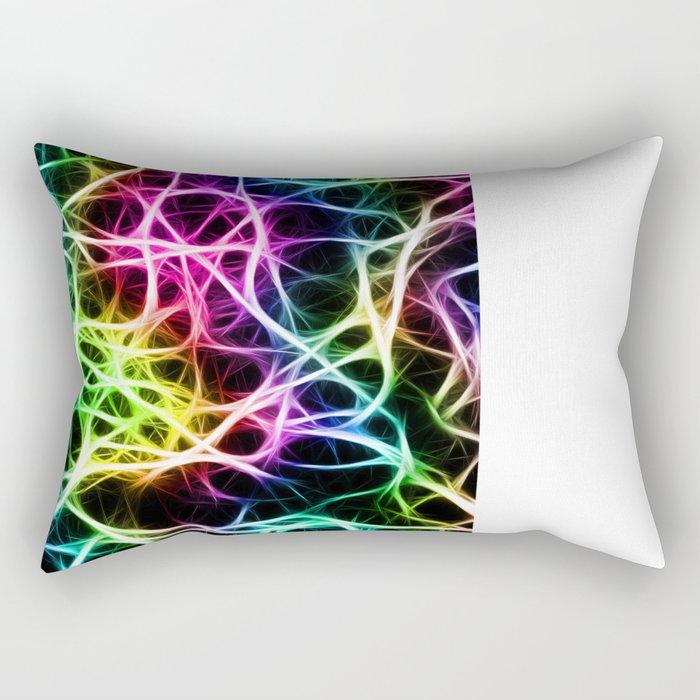 Neurons Cell Healthy Rectangular Pillow