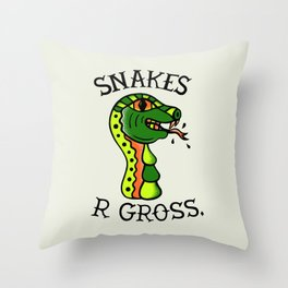 SN\KES Throw Pillow